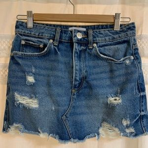 Zara Denim Skirt